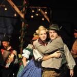 Ines Lutz am Badisches Staatstheater Karlsruhe DER BRANDNER KASPAR UND DAS EWIG' LEBEN Regie und Bühne: Siegfried Bühr